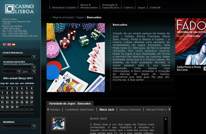 El Casino Lisboa distribuy