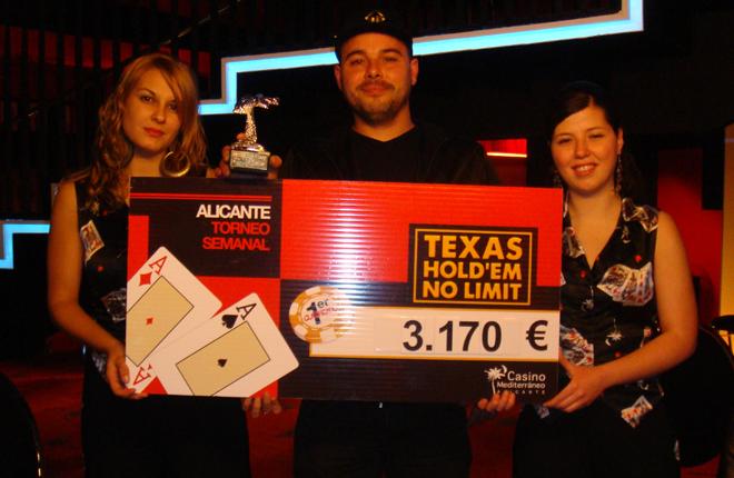 David Vidal vence en la etapa de la Liga de Poker del Casino Mediterr