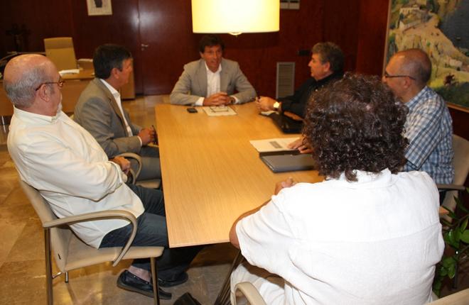 Sareiba expone los problemas de los salones de juego al alcalde de Palma de Mallorca