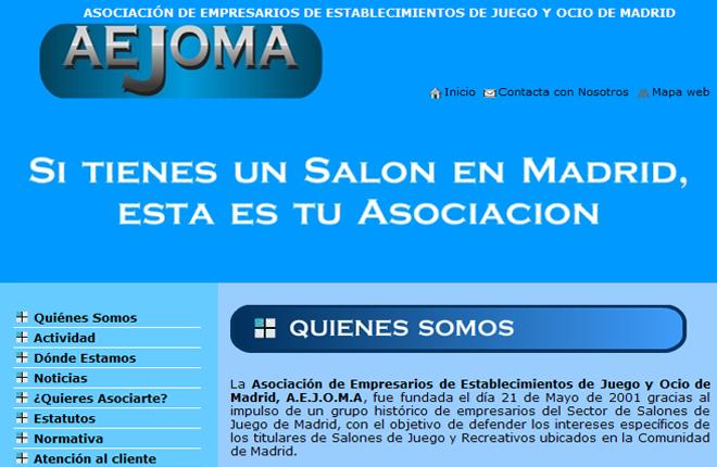 AEJOMA presenta su web y reclama nuevos juegos electrónicos en los salones de Madrid
