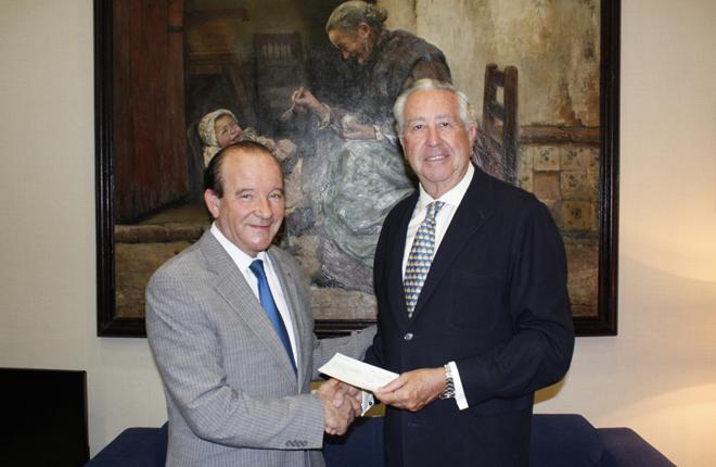 ANDEMAR CV dona 8.400 euros a la Casa de la Caridad de Valencia