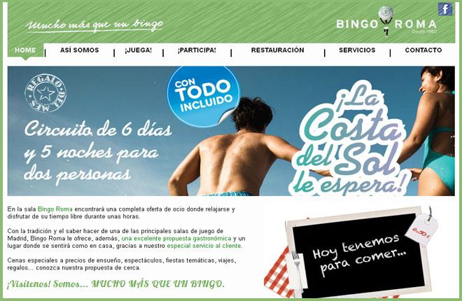 El Bingo Roma ya está en la red