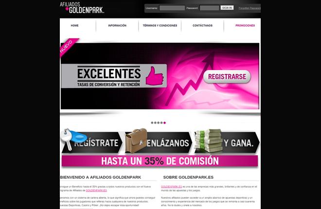 Goldenpark.es confía en Income Access para promover su programa de afiliados