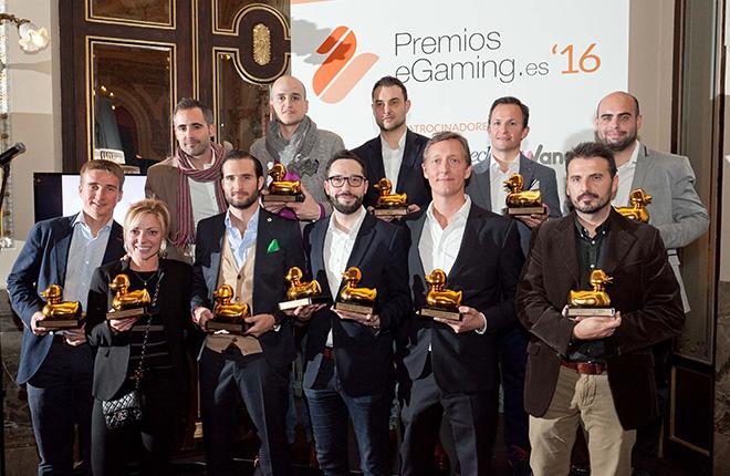 Luckia, Sportium y Wanabet, protagonistas de los premios eGaming