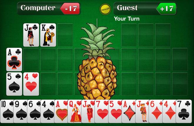 Connective Games desarrolla una app del juego Pineapple OFC