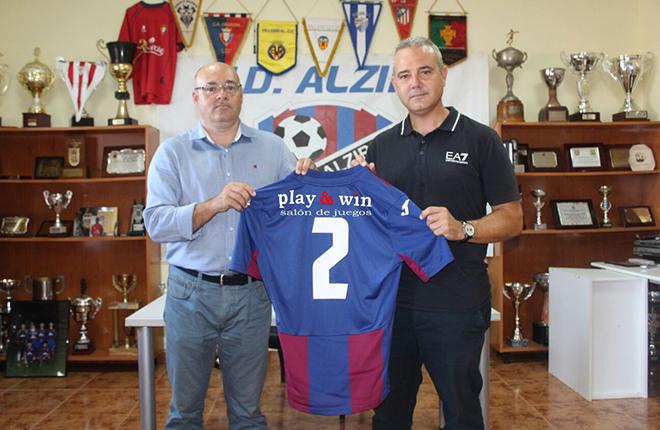 Play&Win patrocinará a la UD Alzira