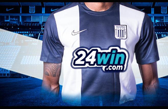 24win.com, nuevo sponsor del Club de Fútbol Alianza Lima