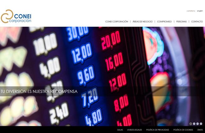 Conei Corporación renueva su web