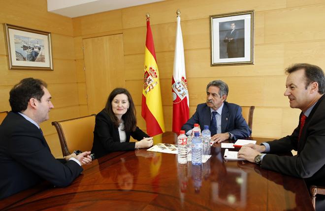 Revilla destaca la contribución del Cupón de la ONCE a la promoción de Cantabria