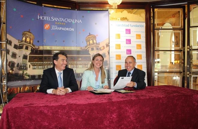 Acuerdo entre el Hotel Santa Catalina, del Grupo Padrón, y la Fundación Randstad