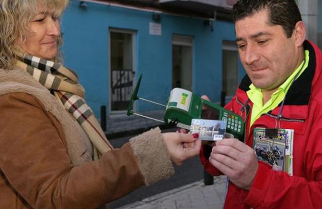 La ONCE incorpora el pago con tarjeta de crédito en sus juegos de azar