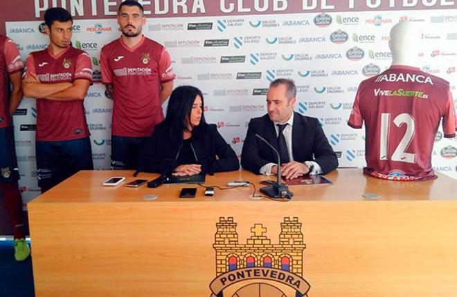 Grupo Orenes patrocinar&aacute; al Pontevedra CF con su marca Vivelasuerte.es<br />