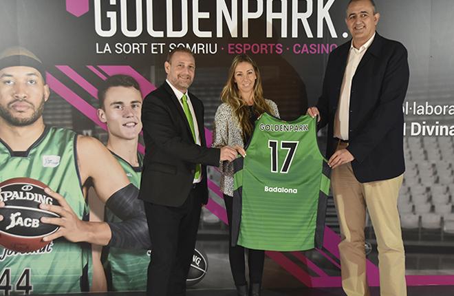 Goldenpark.es renueva como colaborador oficial del Club Joventut Badalona<br />