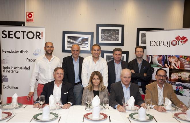 Desayuno de EXPOJOC en Aragón