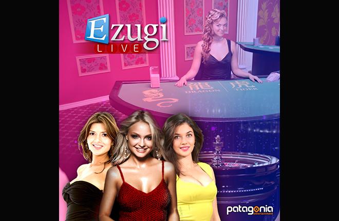 Patagonia ampl&iacute;a su oferta con el casino en vivo de eZugi<br />