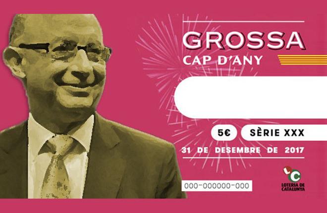 La Grossa de Cap d Any: la loter&iacute;a independentista que ahora controla Montoro por el 155<br />