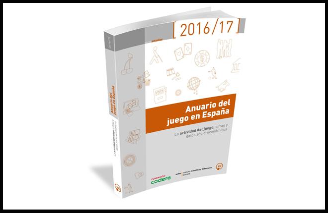 La Fundaci&oacute;n Codere presenta el Anuario del juego en Espa&ntilde;a 2016/2017 <br />