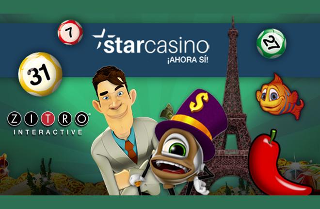 Los juegos de ZITRO interactive se suman a Starcasino.es<br />