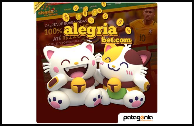 Asociaci&oacute;n entre Patagonia Entertainment y Alegriabet<br />