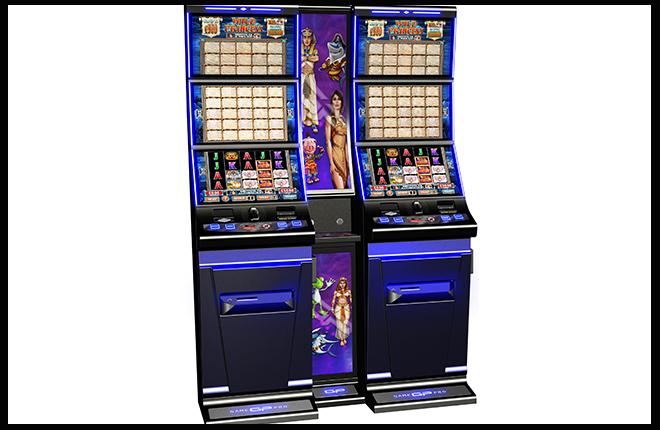 Una m&aacute;quina con tres pantallas de Reflex Gaming<br />