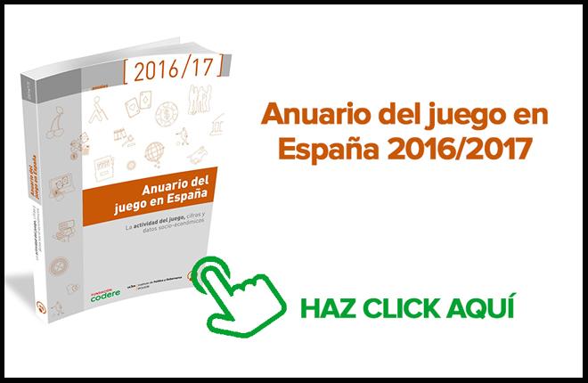 El Anuario del juego en Espa&ntilde;a 2016/2017, ya disponible online <br />