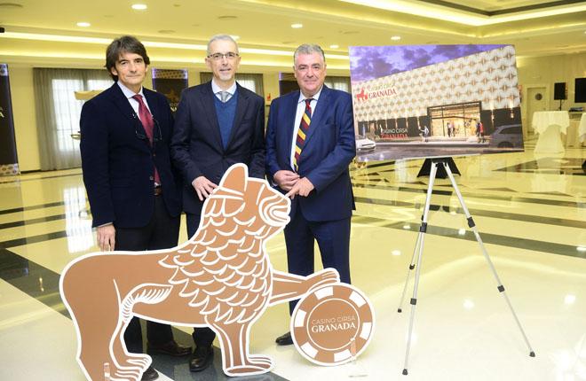 El grupo Cirsa presenta su proyecto Casino CIRSA Granada ubicado en el Hotel Camino de la ciudad<br />