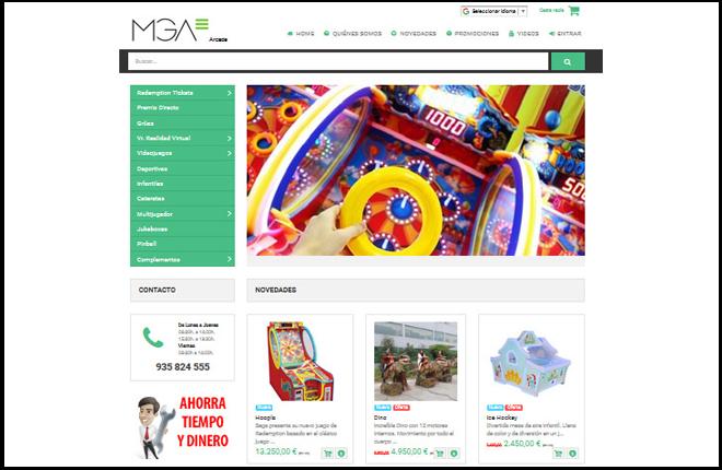 MGA refuerza su estrategia para el sector Amusement con mgaarcade.com