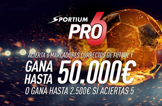 Sportium PRO6, la nueva modalidad de juego gratuita que sorprende al usuario<br />