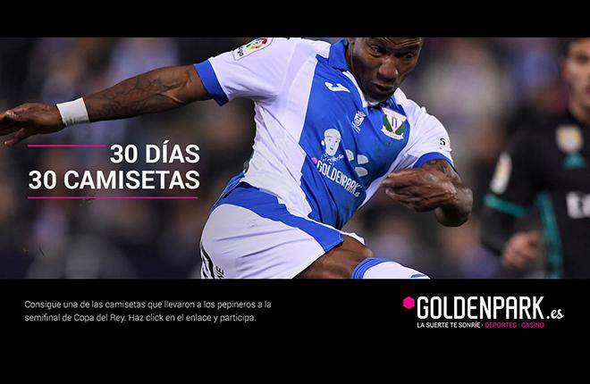 Goldenpark.es regalar&aacute; durante 30 d&iacute;as 30 camisetas del Legan&eacute;s con la imagen de Chiquito<br />