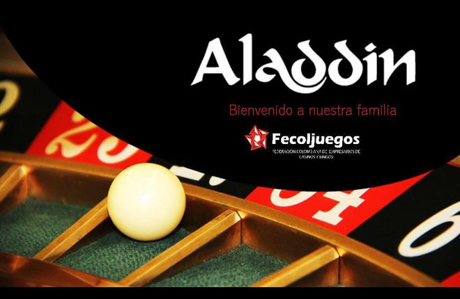 Casinos Aladdin, nuevo afiliado de Fecoljuegos<br />