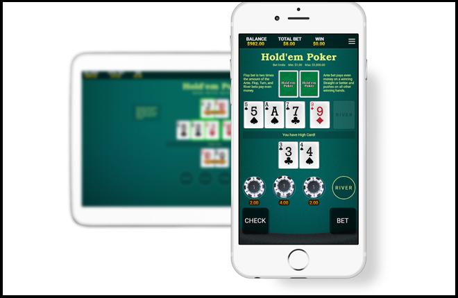 OneTouch lanza el Poker Hold&acute;em para m&oacute;viles<br />