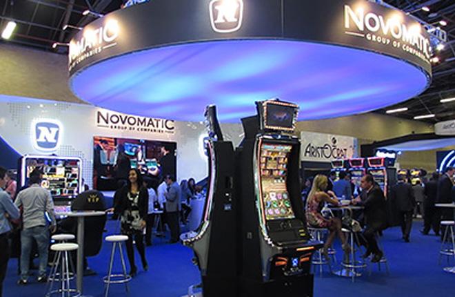 Novomatic prepara tecnología líder para la 20ª edición de FADJA