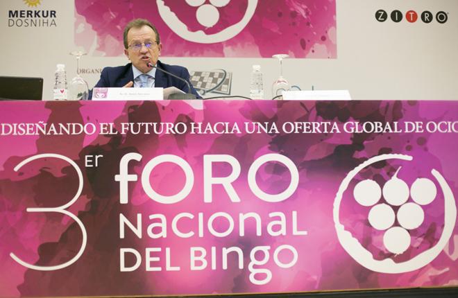 Conclusiones de Jes&uacute;s Serrano sobre el III Foro Nacional del Bingo<br />