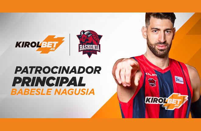 Kirolbet, nuevo patrocinador principal de Saski Baskonia<br />
