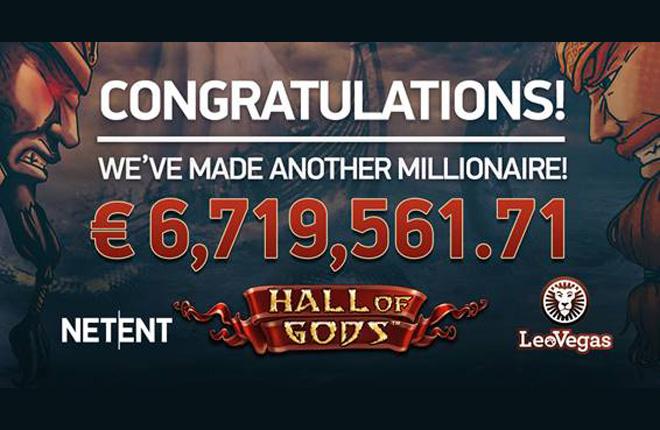 NetEnt lidera los jackpots móviles tras entregar un premio de 6,7 millones de euros
