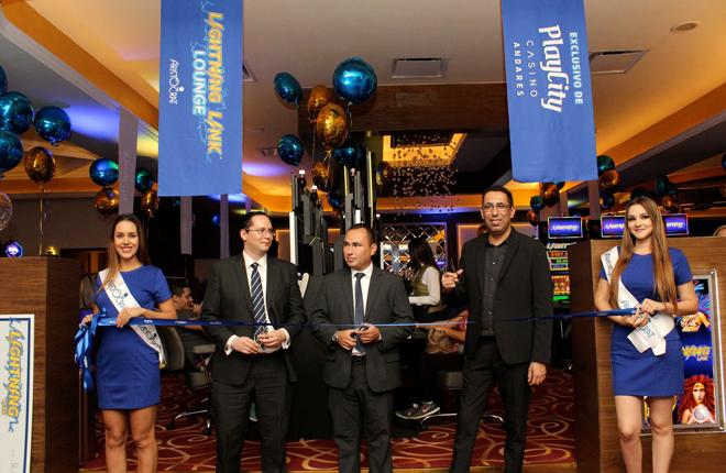 Aristocrat anuncia la apertura del primer Lightning Link Lounge en Am&eacute;rica Latina<br />