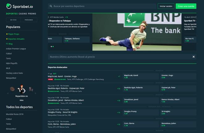 Sportsbet.io ya está disponible en español