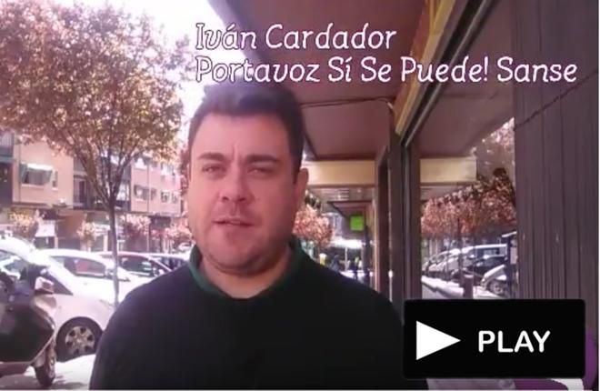 V&iacute;deo sobre la estrategia de los <em>Podemitas</em> de San Sebasti&aacute;n de los Reyes contra el sector del juego<br />