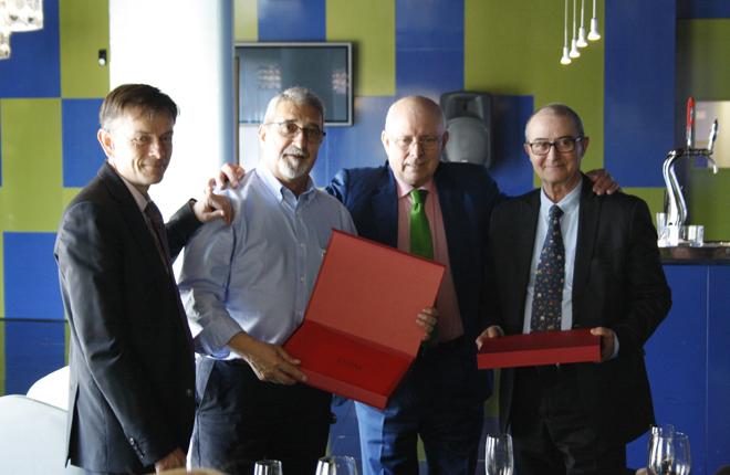 Casino Mediterr&aacute;neo celebra una comida homenaje a los empleados que se han jubilado<br />