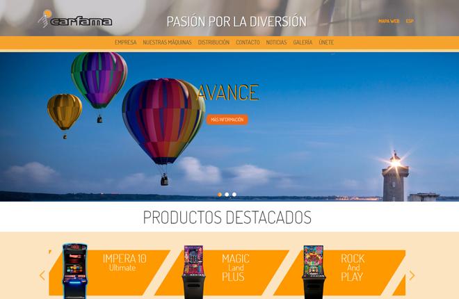 Carfama lanza nueva web<br />