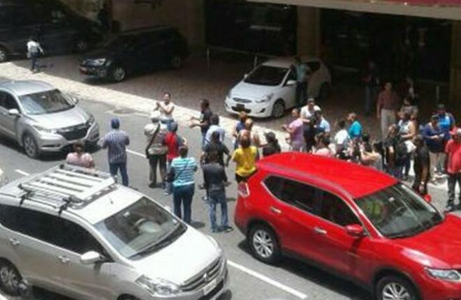 Trabajadores del Venetto Hotel &amp; Casino exigen pago de sus salarios<br />