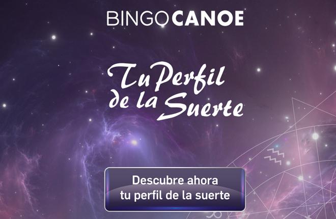 Tu perfil de la suerte en el Bingo Canoe<br />