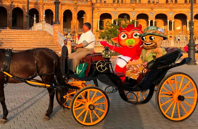 Sevilla tuvo que ser, tercera gran etapa de muñecotes de Metronia