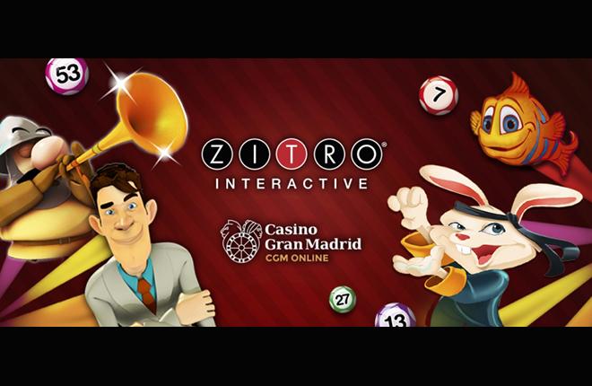 Los juegos de Zitro disponibles en Casino Gran Madrid Online<br />