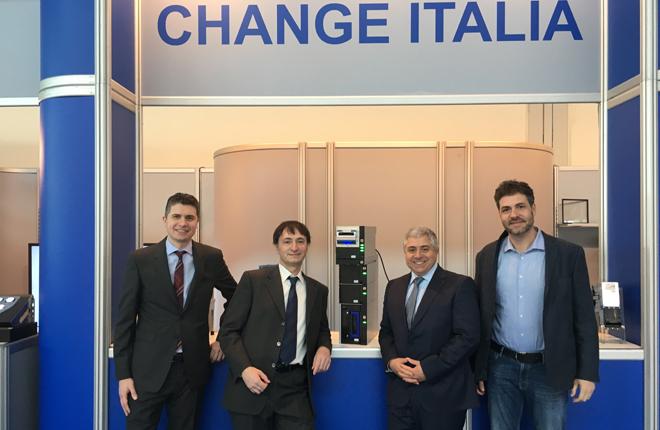 Gran &eacute;xito de Change Italia, distribuidor de JCM, en la&nbsp; pasada feria de Rimini<br />