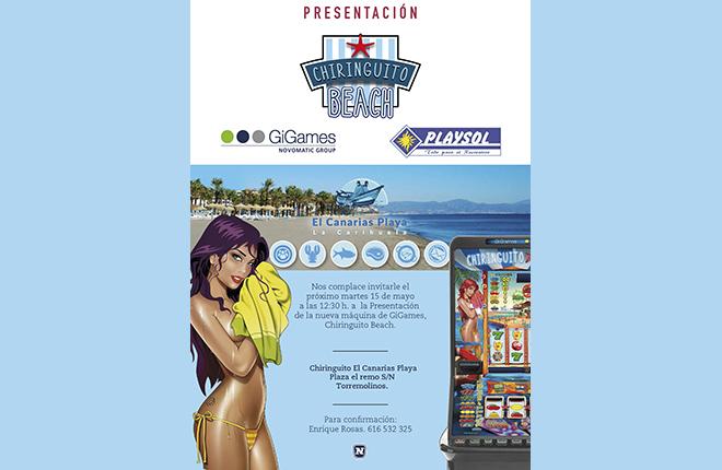 Presentaciones de Chiringuito Beach en Andaluc&iacute;a<br />