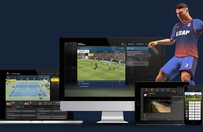 Un producto de f&uacute;tbol virtual en la plataforma de SG Digital<br />