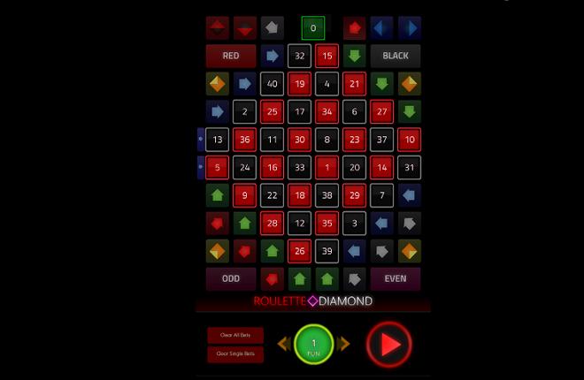 1X2 lanza la innovadora ruleta Diamond