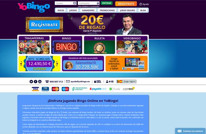 El grupo brit&aacute;nico Rank compra YoBingo.es por 52 millones<br />