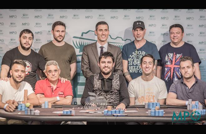 Javier L&oacute;pez se lleva el primer trofeo Mediterranean Poker Open celebrado en Casino Cirsa Valencia<br />